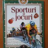 Carte hobby - DESCOPERA LUMEA, SPORTURI SI JOCURI NR. 3