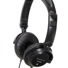 Casti Panasonic RP-DJS200E-K tip DJ, negre - Casti PC