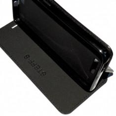 Husa Telefon Allview, Negru, Piele Ecologica, Toc - Husa tip Carte / Coperta Toc Flip Cover Allview V2 Viper + Folie CADOU!!!