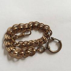 LANT PENTRU CEAS DE BUZUNAR placat cu aur 26 cm