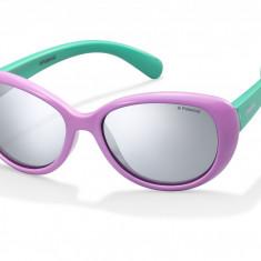 Ochelari de soare Polaroid - Ochelari de soare copii Polaroid PLD8004/S lilac-turquoise PLD8004ST5FJB