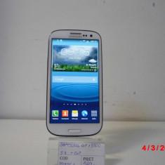Telefon mobil Samsung Galaxy S3, Alb, 16GB, Neblocat, Quad core, 1 GB - SAMSUNG GT I9300 (LM02)