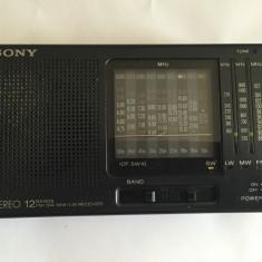 Radio portabil l Sony ICF- SW 10 4 BENZ, 12 Band, Made in japan - Aparat radio Sony, Analog