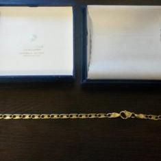 Bratara aur - Bratara de aur barbati - 18K - tara de origine Italia