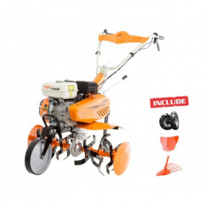 Motosapa Benzina Ruris 7088 7 Cp + Rarita + Dispozitiv Cartofi + Roti Cauciuc - Motocultor