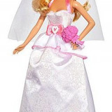 Papusa Barbie Mireasa Mattel Barbie Bride Doll DHC35