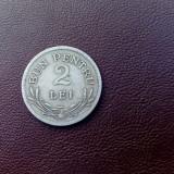 Monede Romania, An: 1924, Cupru-Nichel - BUN PENTRU 2 LEI 1924 ROMANIA (I)