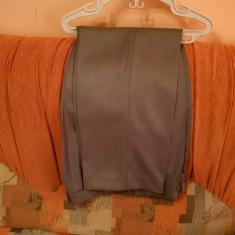 Costum barbati, Adalin Uomo, Gri, 80% lana, Made in Romania, Marime 50