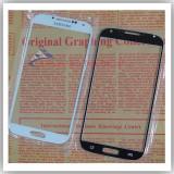 Sticla Ecran Geam Samsung S4  ALB, Albastru sau Negru + Adeziv gratis