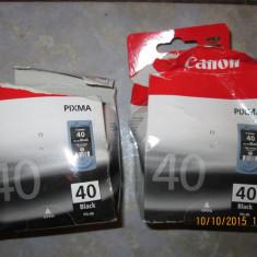 Cartuş gol, original CANON PG-40 Negru (capacitate mare, 22 ml) - Cartus imprimanta
