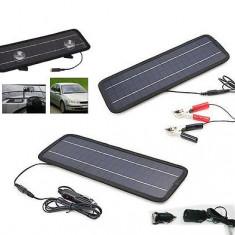 PANOU SOLAR FOTOVOLTAIC solutie Smart 18V 5W pt. masina, motocicleta, telefon - Panouri solare