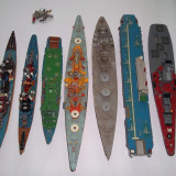 lot sapte machete navale vapoare