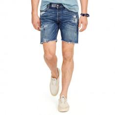 Pantaloni barbati Ralph Lauren, Scurti - Pantaloni scurti blugi Ralph Lauren CUTOFF talie 32