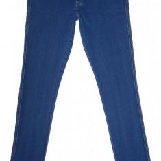Blugi Conici H&M - (MARIME: 30 x 34) - Talie = 84 CM, Lungime = 107 CM - Blugi barbati H&m, Culoare: Albastru, Prespalat, Skinny, Normal