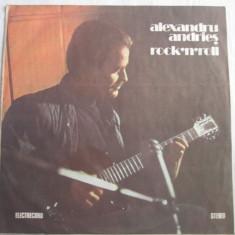 Alexandru Andrieș – Rock'n'roll _ vinyl (LP, album) Romania - Muzica Blues electrecord, VINIL