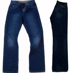 Blugi barbati - calitate superioara - clasici - FARMS 793 W 31, 32, Culoare: Albastru