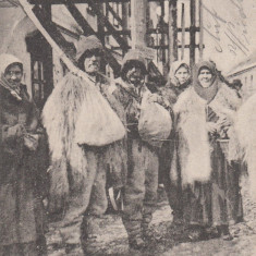 RUTENI DIN CARPATI, CIRCULATA, STAMPILA DE REGIMENT - Carte Postala Bucovina 1904-1918, Printata