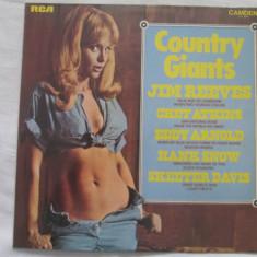 Various – Country Giants _ vinyl(LP) UK - Muzica Country rca records, VINIL