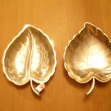 Metal/Fonta - Set 2 suporti (suport) maruntis, alune, chei.monefe, material argintat, Germania