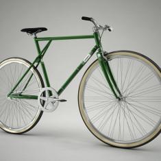 Pegas Clasic B - 3 viteze, Verde - Bicicleta retro