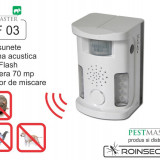 Bricolaj - Bird Ultrasound Repeller Pestmaster UAF03 (anti pasari, anti rozatoare, anti animale)