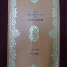 Carte veche - Ponson Du Terrail - La resurrection de Rocambole - 355054