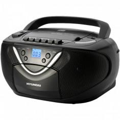 Hyundai Hyundai radio/CD Player Boombox TRC718AU3, negru