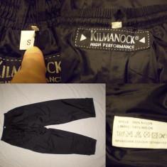 Pantaloni KILMANOCK(S/M) impermeabil respirabil ploaie outdoor tura munte - Imbracaminte outdoor, Marime: S