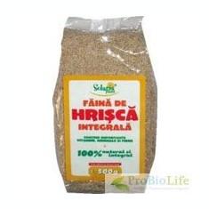 FAINA INTEGRALA DE HRISCA 500gr SOLARIS