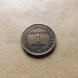 Franta 1 Franc 1924 - MF 1 (Varianta cu cifra 4 din an inchisa), Europa, An: 1924, Bronz-Aluminiu
