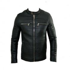 Geaca barbati Zara, Piele - Geaca Zara Man Boyfriend SlimFit Model Primavara Cod Produs 9123