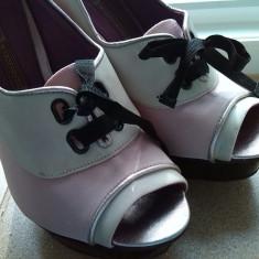 Pantofi buffalo london marime 38 - Pantof dama Buffalo, Culoare: Roz