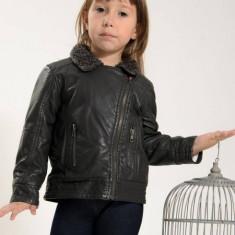 Geaca copii imitatie piele Losan 326 2013 (Culoare: gri, Imbracaminte pentru varsta: 4 ani - 104 cm)