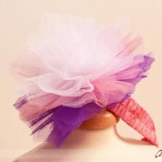 Bentita Party Lilac Pompom (Circumferinta cap: 48 cm)