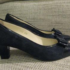 VAND PANTOFI masura 39 sau 26 PENTRU OCAZIE BLEUEMARINE - Pantofi dama, 29, Bleumarin