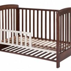 Patut lemn pentru bebelusi - Gard de protectie pentru patut Dreamy Plus Alb Treppy