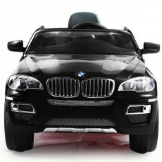 Masinuta electrica copii - Masinuta BMW X6 cu acumulator si telecomanda pentru copii Negru Ramiz