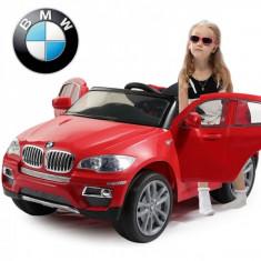 Masinuta electrica copii - Masinuta BMW X6 cu acumulator si telecomanda pentru copii Rosu Ramiz