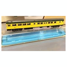 Macheta vagon Atlas N Gauge C&NW 85' 2644 train Passenger Cars - Macheta Feroviara Alta, N, Vagoane