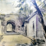 Tablou - Sorin Ionescu, Strada in Italia?