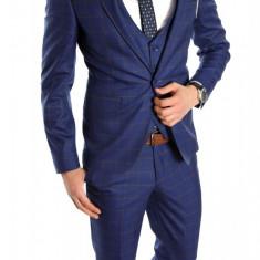 Costum tip ZARA - sacou + pantaloni - vesta costum barbati casual office - 6149