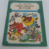 Carte de colorat - URSUL PĂCĂLIT DE VULPE/ ION CREANGĂ/ ILUSTRAȚII ADRIAN ANDRONIC/1987