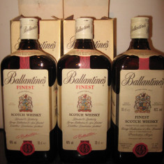 Whisky - 3 sticle whisk, ballantines, cl 70 gr 40 ani 70
