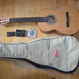 Chitara clasica Cort + husă + bass tuner + set corzi