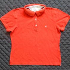 Tricou Tommy Hilfiger; marime L, vezi dimensiuni exacte; 94% bumbac, 6% elastan - Tricou dama, Marime: L, Culoare: Din imagine
