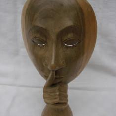 Frumoasa sculptura in lemn
