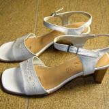 Sandale dama marca Gino Ventori interior exterior si talpa piele marimea 37 (P302_1)