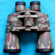 Binoclu vanatoare, 50 mm, 12 ori - Binoclu Bushnell 10 X 50mm-super oferta