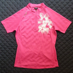 Tricou ciclism dame X-Fact model floral; marime 36, vezi dimensiuni; ca nou