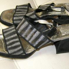Sandale dama marca LaLuna piele interior exterior marimea 38.5 (P70_1), Culoare: Din imagine